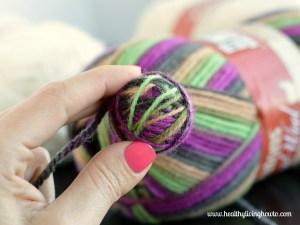 Dryer Balls Step Five