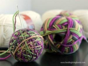 Dryer Balls Step Seven
