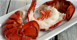 Lobster Tails in Pressure Cooker