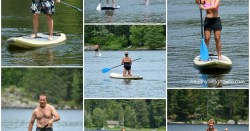 Paddle Boarding Crew Collage