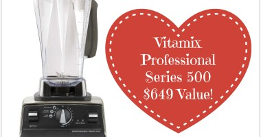 Give Away: Vitamix Professional Series 500 – $649 Value!