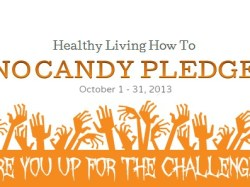 2nd Annual No Candy Pledge: I Dare You!