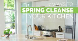 7 Ways To Spring Cleanse Your Kitchen | healthylivinghowto.com