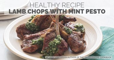 Healthy Recipe: Lamb Chops with Mint Pesto