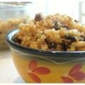 quinoa and raisins