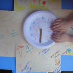 Our Daily Clock and homeschool calendar