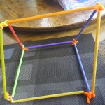 building with pipe cleaners