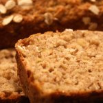 Sweet Potato, Banana,Peanut Butter Oatmeal Breakfast Bread