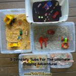 5 Sensory Tubs for the Ultimate Digging Adventure