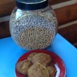Gluten Free Banana Chickpea Flour Cookies