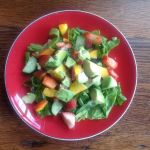 Mango and Strawberry Salad