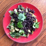 Kale, Beans and Avocado Salad
