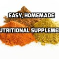 Easy, Homemade Nutritional Supplements