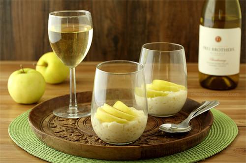 chocolatemoosey - wine and pudding