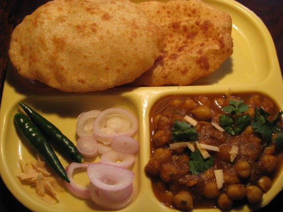 Instant atta bhatura with club soda water