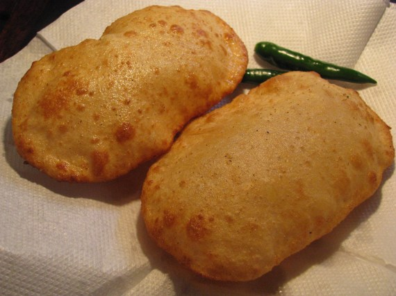 easy whole wheat flour bhatura from curd recipe