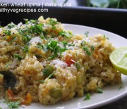 Dalia Upma | Broken wheat Upma