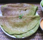Palak Dosa Recipe  | Spinach Dosa Recipe for diabetics