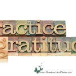 Practicing gratitude and finding inspiration everywhere
