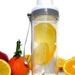 Glass Water Bottle & Tea Infuser By My Healthy Way