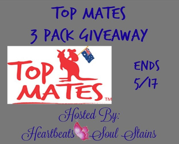 Top mates 3 pack giveaway