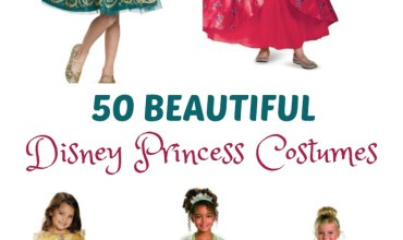 Perfect Costumes for the Princess in Your Life ~ 50 Disney Princess Costumes