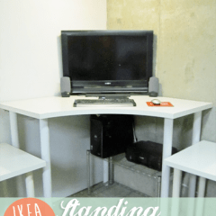 Ikea Hack | Create A Standing Workstation