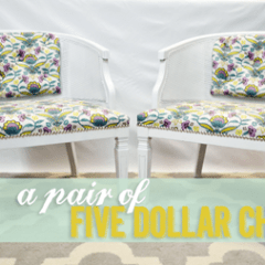 A Pair of Five Dollar Chairs