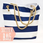 DIY Summer Tote Bag