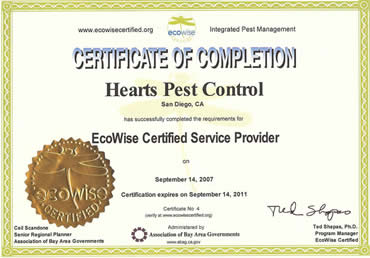 EcoWise Certification