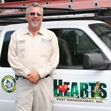 Curtis, supervisor at Hearts Pest Management