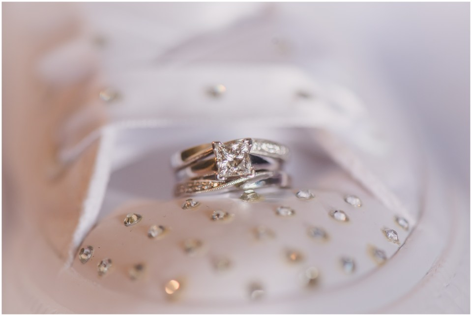 south jersey wedding photographer, ring in converse shoe