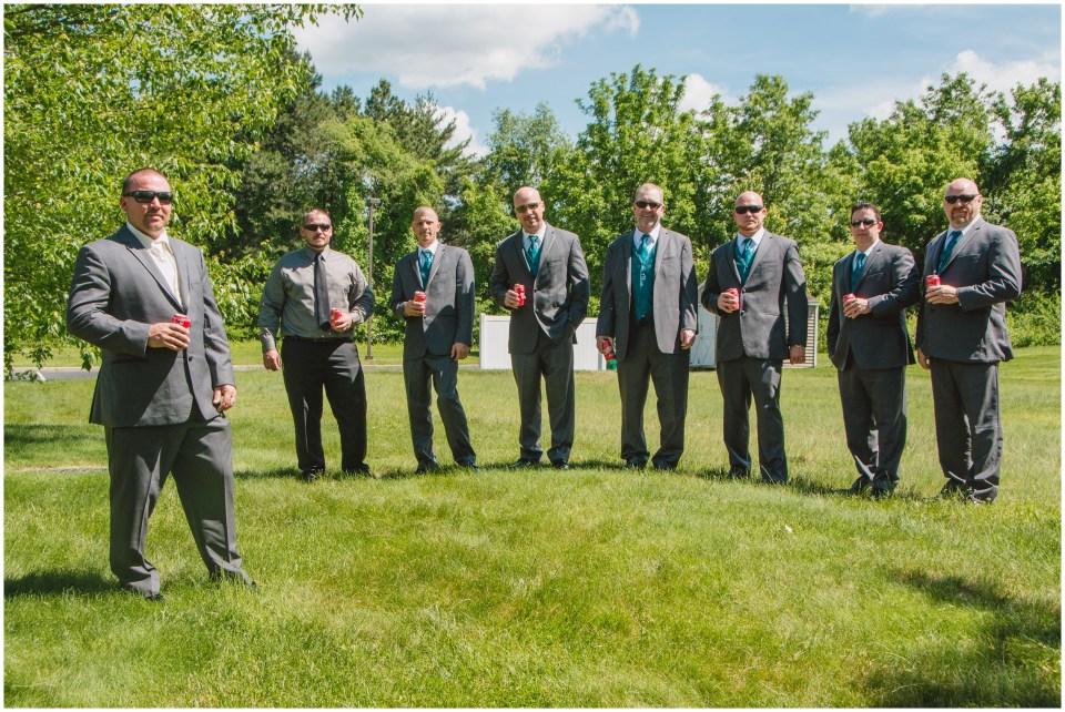 south jersey wedding photographer, getting ready groom portraits, teal groomsmen
