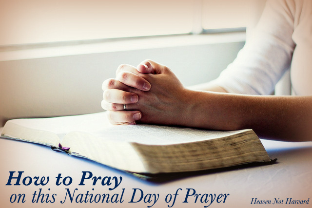 How to Pray on this National Day of Prayer