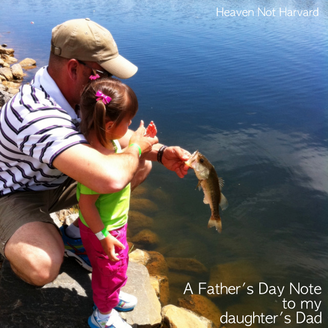 A Father's Day note to my daughter's dad