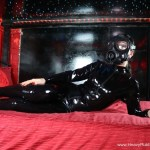 latex mistress in gasmask fetish film