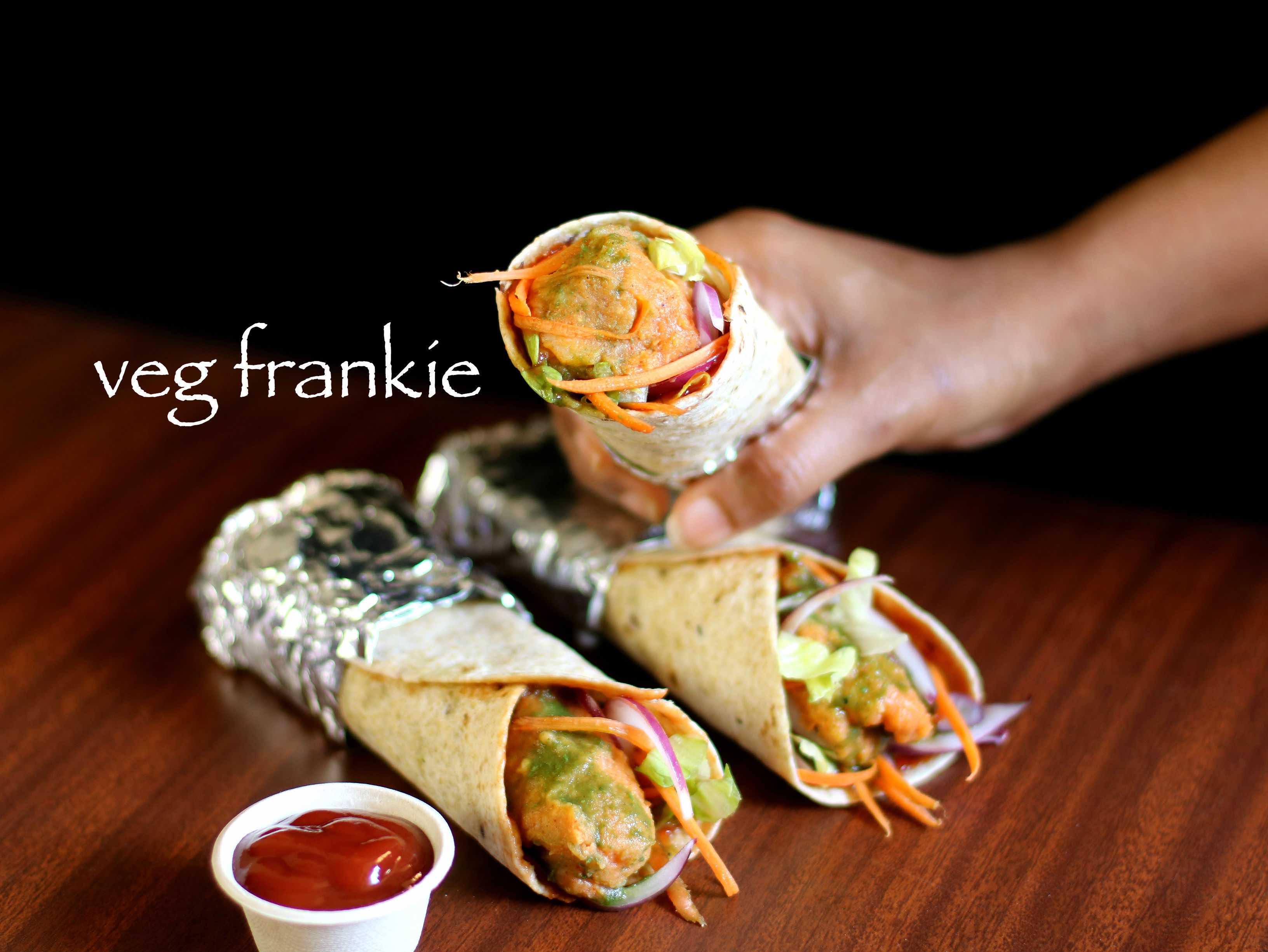 Fetching Veg Frankie Recipe Veg Kathi Roll Recipe Veg Frankie Roll Recipe 2 How To Roll A Wrap Tortilla How To Roll A Hemp Wrap nice food How To Roll A Wrap