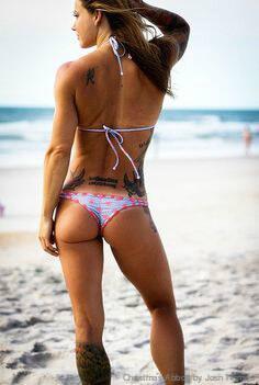 Fitness, Frauen, Training, schwer, Gewicht
