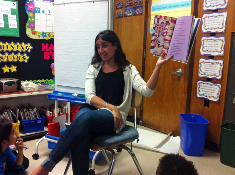 Fourth-grade bilingual teacher Kristin Pascuzzi worries about how the pressure of more rigorous standards will impact her students' self-confidence.