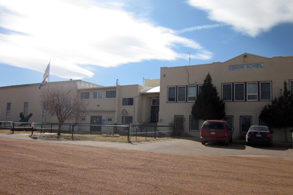 Rural Colorado's Edison School has big technological ambitions, despite the fact that many of its students still lack internet access at home.