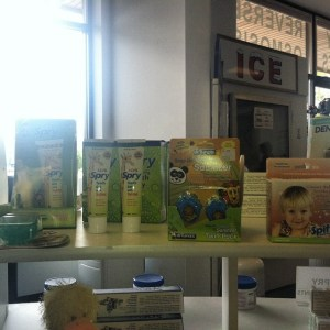 We also have Spry products for the little ones