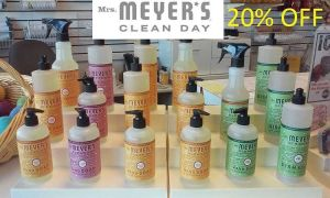 The seasonal line of Mrs Meyers cleaning products are in!hellip