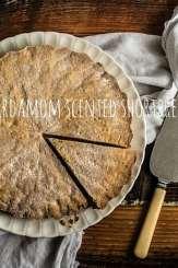 Cardamom Scented Shortbread