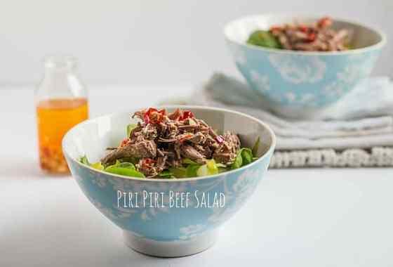 Piri Piri Beef Salad