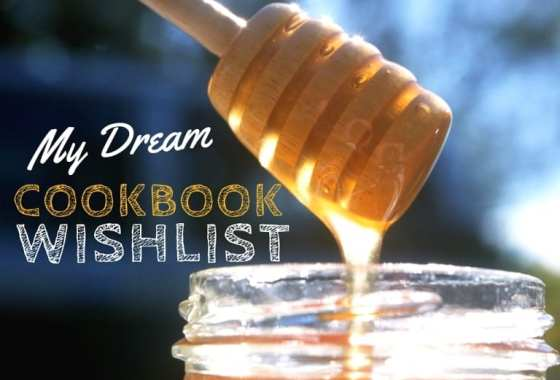 My Dream Cookbook Wishlist