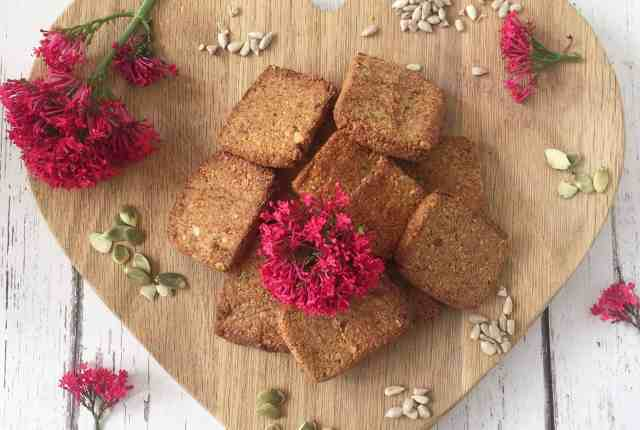 clean eating nut free cracker recipe 1