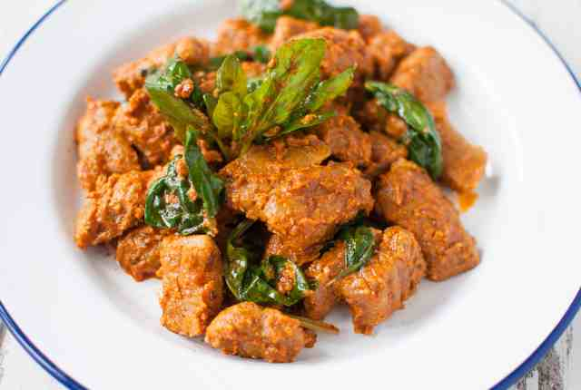Clean eating sweet potato gnocchi recipe 8