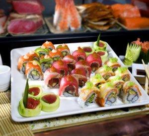 Heat sushi