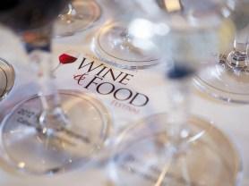 NJWFF Wine glasses on logo
