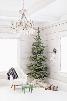 Minimalistično božično drevo